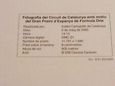 FOTOGRAFIA AÉREA DEL CIRCUIT DE CATALUNYA GRAN PREMIO ESPAÑA 2005 F1 (2)