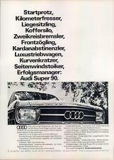 Audi-90-1967-Reklame-Werbung-genuine Advert-La publicité-nl-Versandhandel