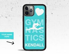 Personalized Teal Gymnastics Phone Case for Apple iPhone iPod & Samsung