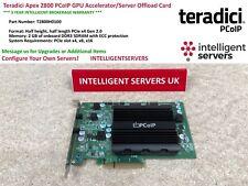 Teradici Apex 2800 PCoIP GPU Accelerator/Server Offload Card  -  T2800H0100