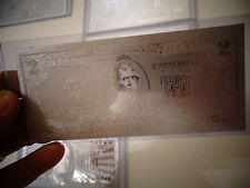 Usa 2 Dollar Silver New Bill -Each In Hard Bill Holder- Great Collectible Gift