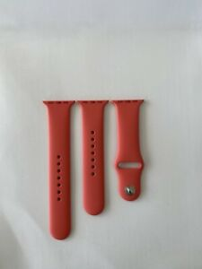 GENUINE APPLE Watch Silicone Sport Strap Band For iWatch 38/40mm Series 23456 SE