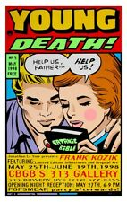 Young Death Frank Kozik Limited Edition Print