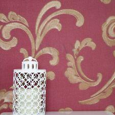 EDEM 168-34 Tapete Floral Designer Blumen Vinyltapete Violettrot rosa weiß lila