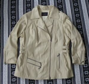 CABRINI Lamm Nappa Jacke Echtes Leder Jacket Blazer Gr.50