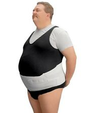 Barbaric Abdominal Support Leader Back Brace Plus Size Orthopedic Belts White