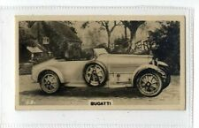 (Jb5093-100)  WILLS NZ,MOTOR CARS,BUGATTI,1926#13