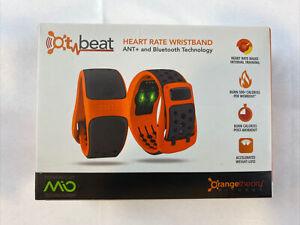 Orange Theory Rubber Heart Rate Wristband OT Beat Monitor Fitness by MIO NEW
