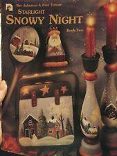 New ListingDecorative Tole Painting Pattern Book Starlight Snowy Night Book 2