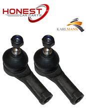 For FORD TRANSIT 2002> FRONT OUTER TRACK TIE ROD ENDS PAIR X2 Karlmann New