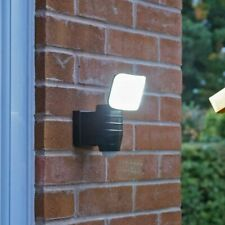 Outdoor Security Wall Light - Battery Operated - PIR Motion Sensor - 350 Lumen