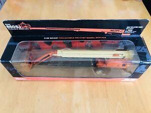 Rare JLG 860SJ Telescopic Boom Lift Model 1:32 Scale - New, Boxed, Unopened