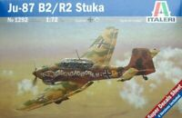 1/72 WWII JU-87 B2 Stuka ITALERI 1292 Plastic Model kit