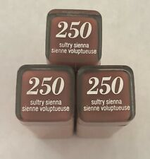 (3) Covergirl Colorlicious Lipstick, 250 Sultry Sienna