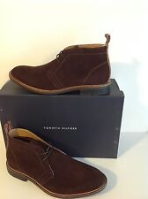 TOMMY HILFIGER ADAM DARK BROWN LEATHER NEW TO THE MARKET 100% AUTHENTIC