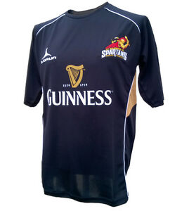 Olorun Spartans Rugby Supporters T-Shirt  S - XXXXL