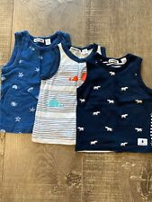 Country Road Baby Boy Singlets Bundle Size 6-12mths (0)