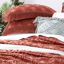 Park Avenue Medallion Cotton Vintage wash Bed Cover Coverlet set SB DB / QB KB
