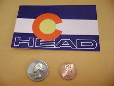 HEAD SKI BOOTS COLORADO FLAG HEAD SKIS HEAD MONSTER TI SKI  STICKERS