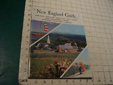 the NEW ENGLAND GUIDE annual 1961-62, 120pgs