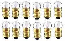 (12) Twelve 1447 Clear 18v BULBS for American Flyer S Gauge Scale Trains Parts
