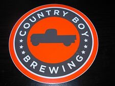 COUNTRY BOY BREWING Cougar Bait Shotgun Wedding STICKER decal craft beer brewery