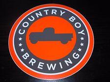 COUNTRY BOY BREWING Cougar Bait Shotgun Wedding STICKER decal craft beer brewery