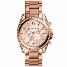 Orologio Donna Michael Kors Blair MK5263 cronografo in acciaio oro rosa