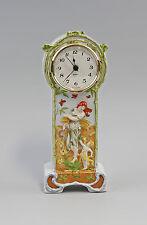 Porzellan Tisch - Uhr Jugendstil Elfe Kämmer H22cm 9944335