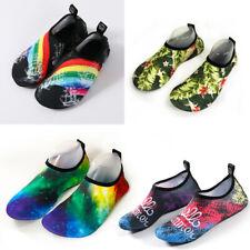 Women Men  Water Shoes Barefoot Aqua Socks Yoga Beach Swim Surf Shoes US 4-11
