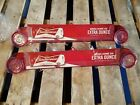 iSEE APEX VAULT DISPLAY CAN HOLDER  APX-5C-1001-RED186C-BUD -BUDWEISER- LOT OF 2