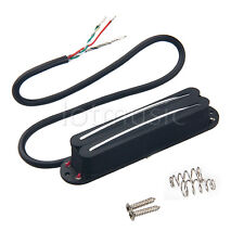 Humbucker Belcat Alnico V Hot Rail Blade Pickup For Electric Guitar Strat Black