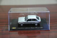 IXO 1:43 Chevrolet Chevette Hatch SR 1.6 1981 Diecast Models Cars Toy Collection