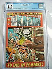 Marvel ASTONISHING TALES #10 CGC 9.4 NM Ka-Zar Barry Windsor-Smith 1972