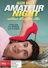 Amateur Night (DVD, 2016) Ex rental JASON BIGGS FREE POST COMEDY