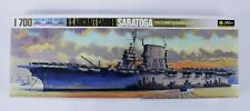 Fujimi Water Line Series USS Saratoga Aircraft Carrier 1/700 Scale Model Open Bo