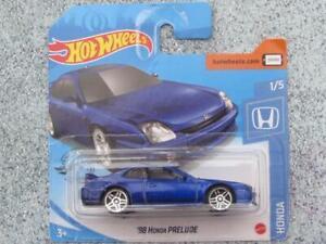 Hot Wheels 2020 #166/250 1998 HONDA PRELUDE dark Blue @P New Casting 2020