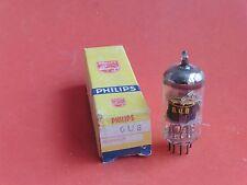 1 tube electronique PHILIPS 6U8 /vintage valve tube amplifier/NOS(39)