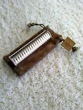 Vintage Christofle Silver Plated Empty Travel Perfume Spray Bottle