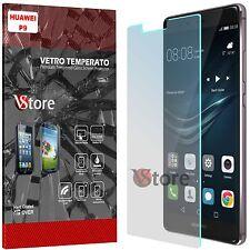 """Pellicola in Vetro Temperato Per Huawei P9 Proteggi Display Schermo LCD 5.2"""""""