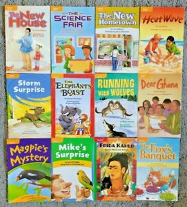 12 Children's Reader Lot Paperback Readers MACMILLAN MCGRAW HILL FREE SHIPPING
