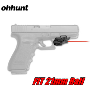 ohhunt Universal Micro Red Dot Laser Sight For Rail-Equipped Pistol 21mm Rail