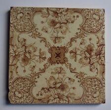 Original Victorian Tiles - Transfer Floral  # 300