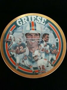 BOB GREISE SPORTS IMPRESSIONS LIMITED EDITION PLATE # 1 OF 7500 EXCELLENT