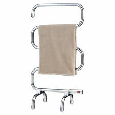 Heller 70w Freestanding Chrome Heated Towel Rail HTR102C