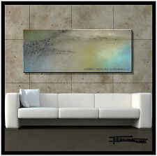 Large Direct from Artist, Abstract PAINTING Canvas Wall Art, 60 USA ELOISExxx