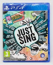 JUST SING - PLAYSTATION 4 PS4 PLAY STATION - PAL ESPAÑA - NUEVO PRECINTADO