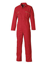 Mens Dickies Redhawk Coverall Overalls Boiler Suit WD4839 Zip Front All Colours