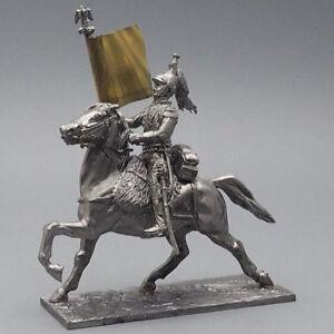 Tin soldier, Senior sergeant of the cuirassier regiment, Napoleonic Wars, 54 mm