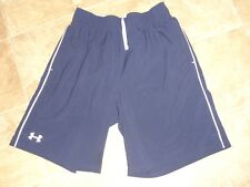 Men's Under Armour Loose Navy Shorts Md Inseam 9.5""